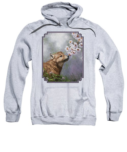 Wolf Pup - Baby Blossoms Sweatshirt