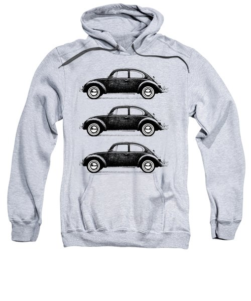 Think Small Sweatshirt by Mark Rogan