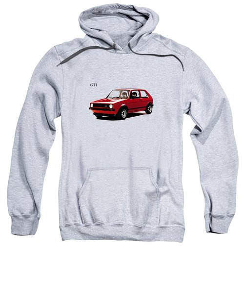 Vw Golf Gti 1976 Sweatshirt