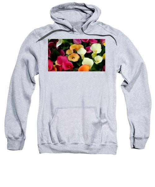 Arum Lilies Sweatshirt