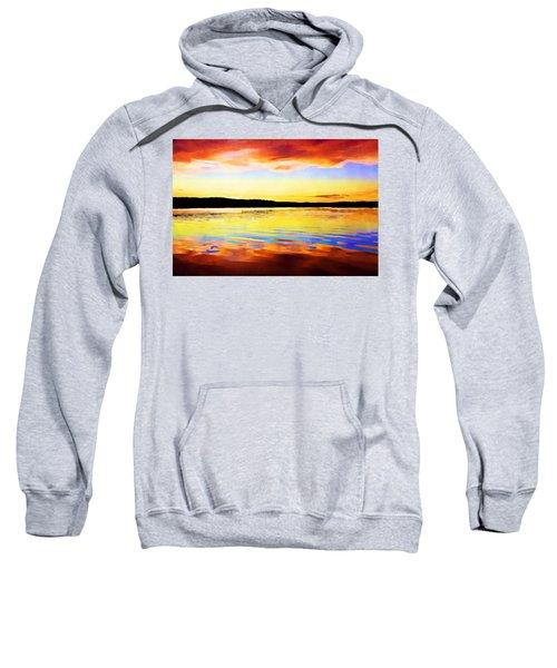 As Above So Below - Digital Paint Sweatshirt
