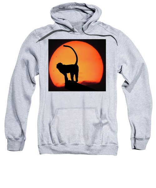 As The Day Ends Sweatshirt