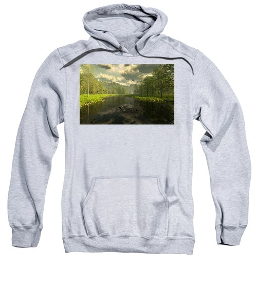 As The River Flows Sweatshirt