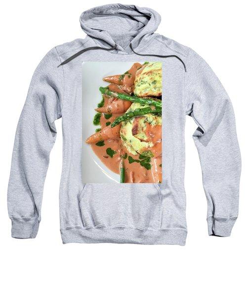 Asparagus Dish Sweatshirt