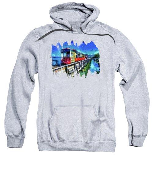 Astoria Riverfront Trolley Sweatshirt