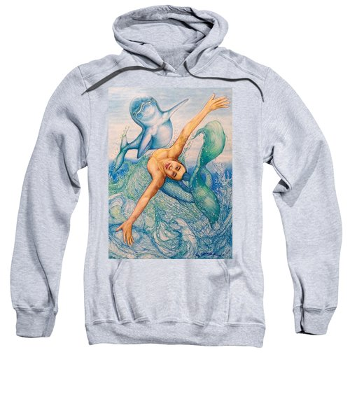 Astrology Zodiac Signs Pisces Sweatshirt by Kent Chua
