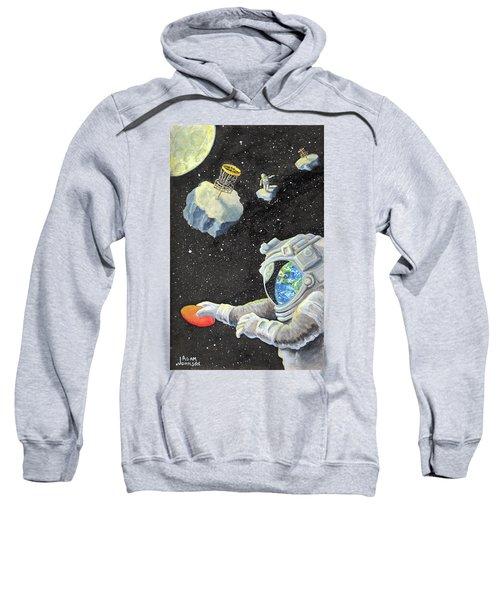 Astronaut Disc Golf Sweatshirt