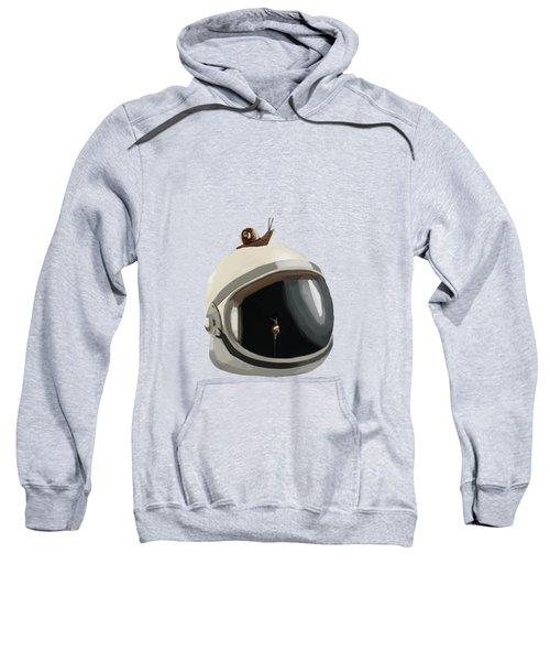 Astronaut's Helmet Sweatshirt by Keshava Shukla