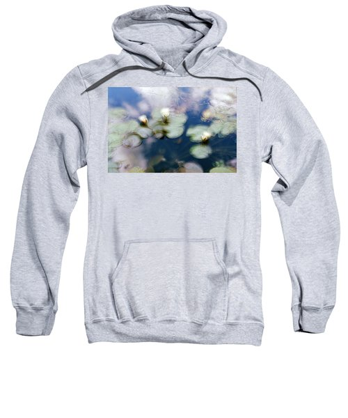At Claude Monet's Water Garden 4 Sweatshirt