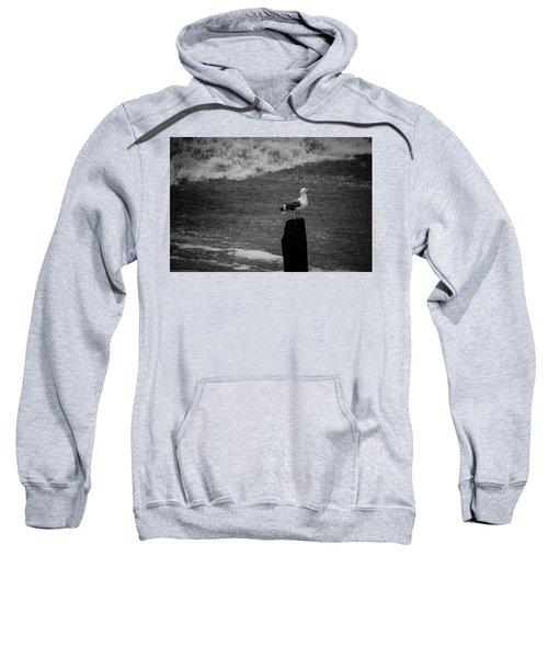 At His Post Sweatshirt