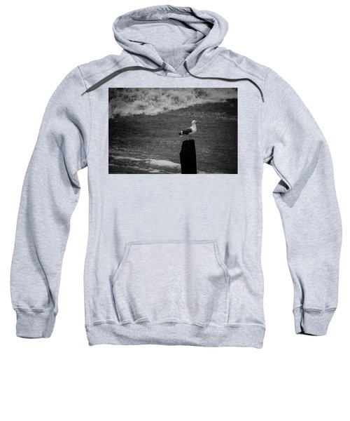 At His Post Sweatshirt