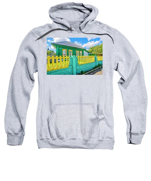 At Home In Belarus Sweatshirt