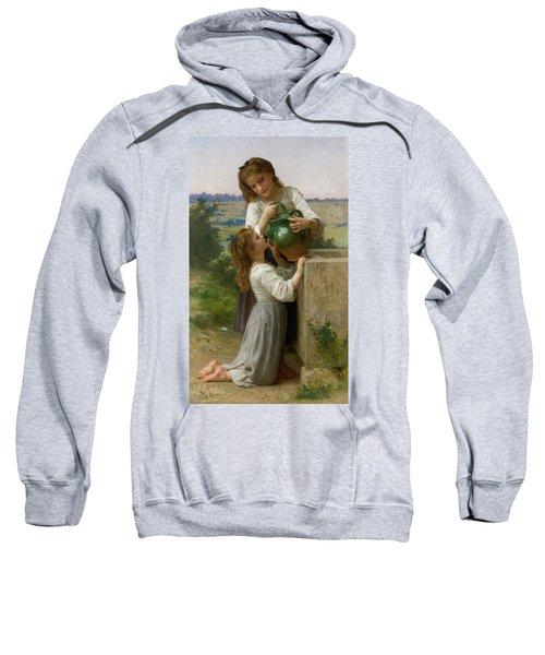 At The Fountain Sweatshirt