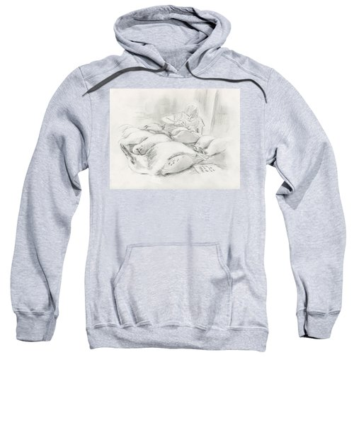 At The Museum II Sweatshirt