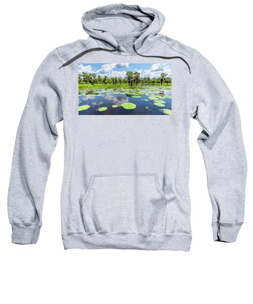 Atchaflaya Basin Reflection Pool Sweatshirt