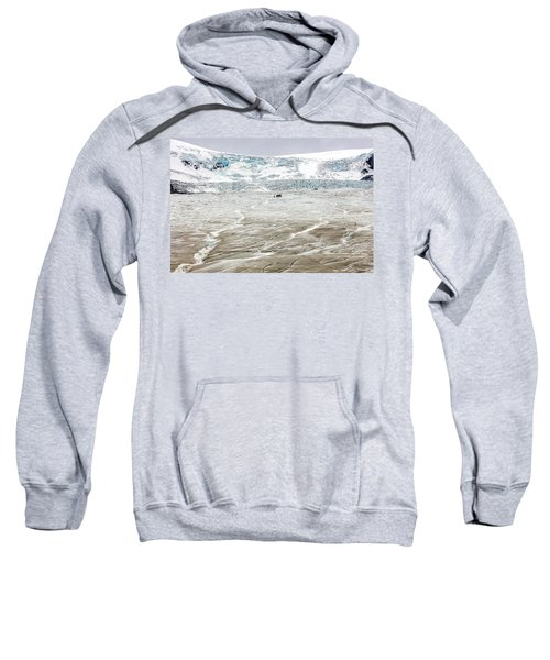 Athabasca Glacier With Guided Expedition Sweatshirt