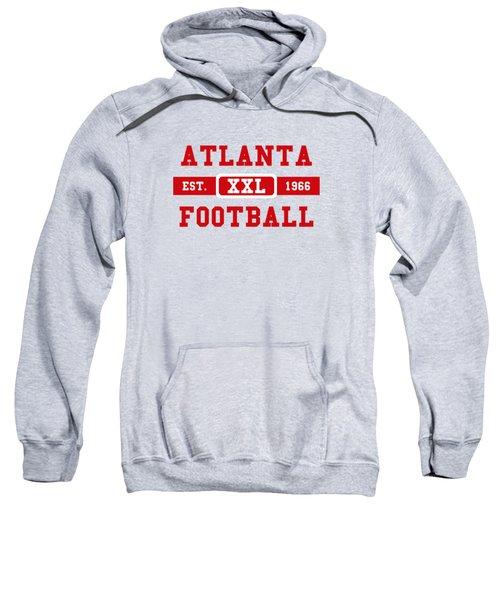 Atlanta Falcons Retro Shirt 2 Sweatshirt by Joe Hamilton