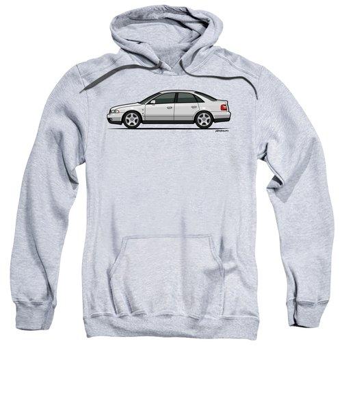Audi A4 Quattro B5 Type 8d Sedan White Sweatshirt