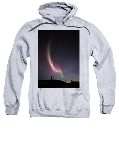auroral Phenomonen known as Steve, 5 Sweatshirt
