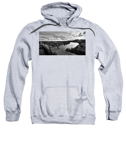 Austin 360 Pennybacker Bridge Sunset Sweatshirt
