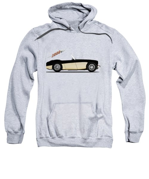 Austin Healey 3000 Sweatshirt by Mark Rogan