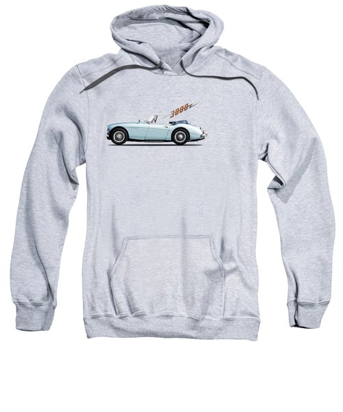 Austin Healey 3000 Mk3 Sweatshirt by Mark Rogan