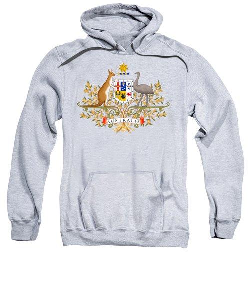 Australia Coat Of Arms Sweatshirt by Movie Poster Prints