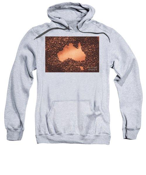 Australian Made Coffee Sweatshirt
