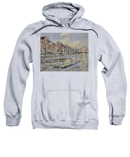 Autumn Along The Amstel In Amsterdam Sweatshirt