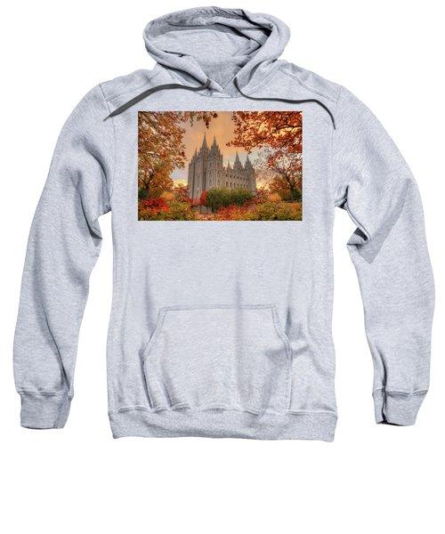 Autumn At Temple Square Sweatshirt