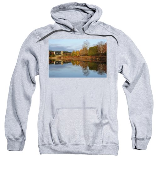 Autumn At The Old Stone Church Sweatshirt