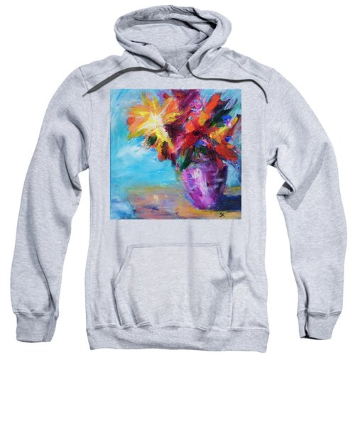 Colorful Flowers  Sweatshirt