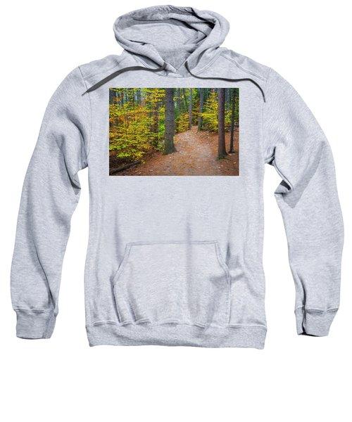 Autumn Fall Foliage In New England Sweatshirt