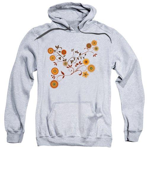 Autumn Flower Explosion Sweatshirt