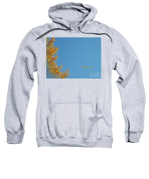 Autumn Ginkgo Tree Sweatshirt
