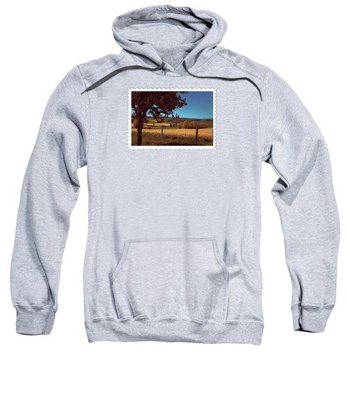 Autumn Harvest Wheat Field Sweatshirt