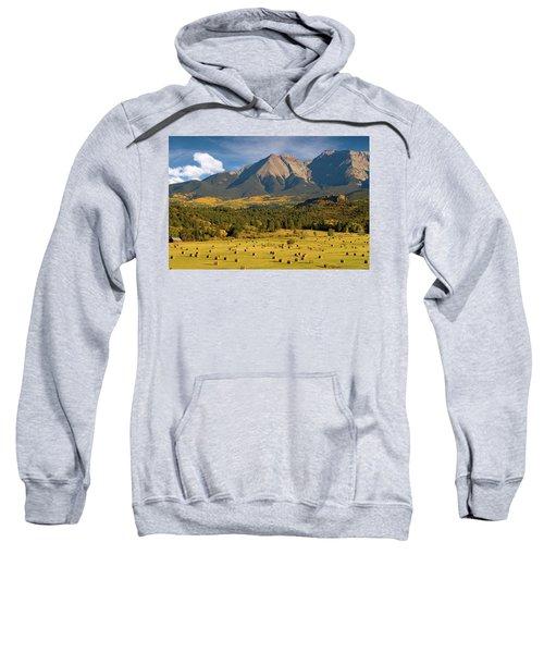 Autumn Hay In The Rockies Sweatshirt