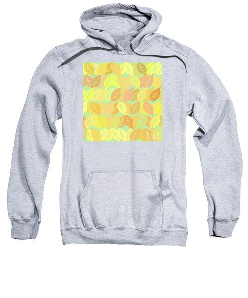 Autumn Leaves Pattern Sweatshirt