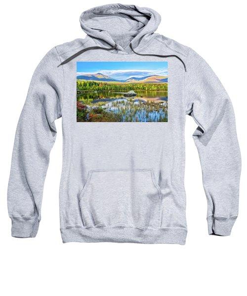 Autumn Mt.katahdin Baxter Sp Maine Sweatshirt