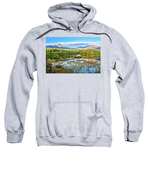 Autumn Mt.katahdin Baxter Sp Maine Sweatshirt