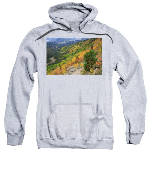 Autumn On Bierstadt Trail Sweatshirt