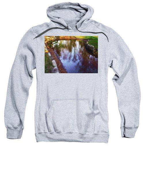 Autumn Reflection Pond Sweatshirt