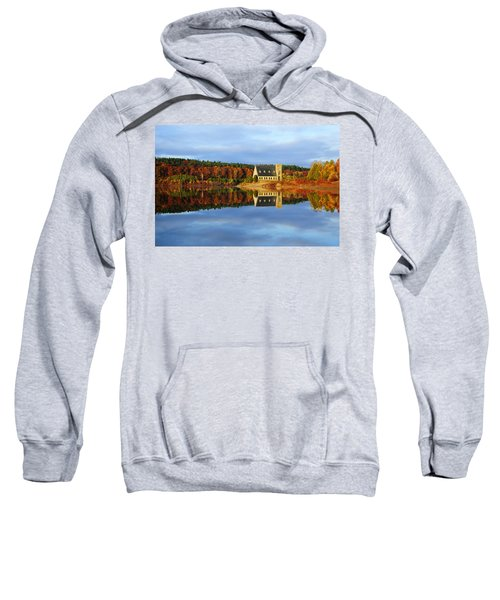 Autumn Sunrise At Wachusett Reservoir Sweatshirt