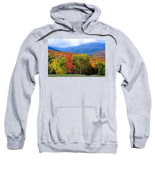 Autumn White Mountains Nh Sweatshirt