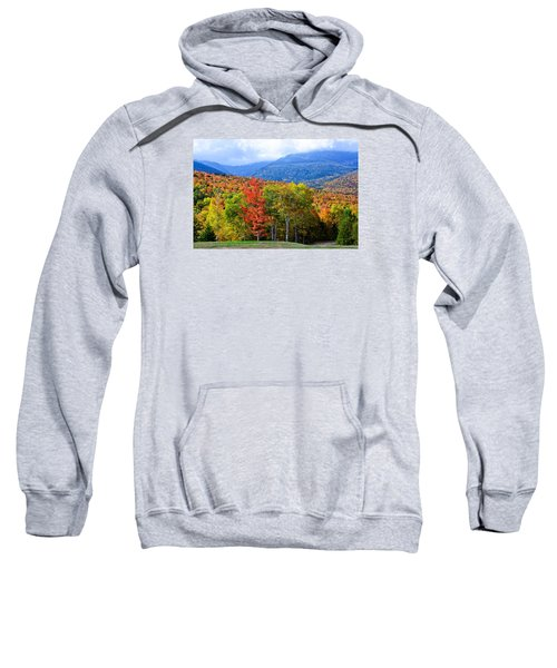 Autumn White Mountains Nh Sweatshirt