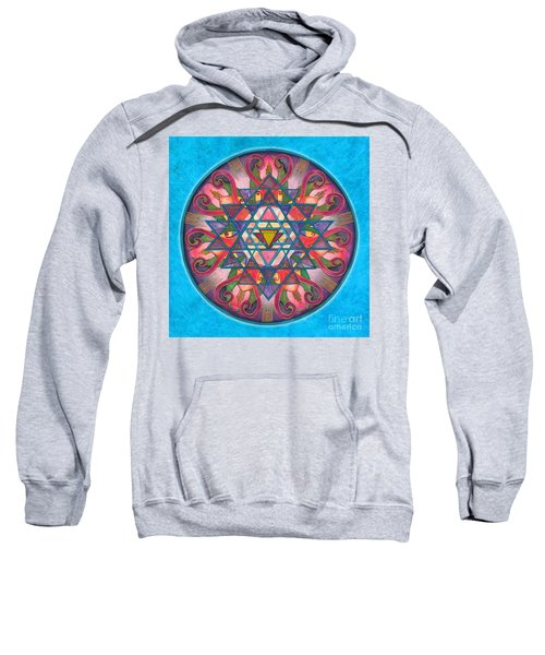 Awareness Mandala Sweatshirt