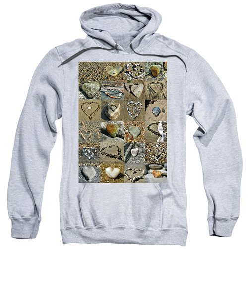 Awesome Hearts Found In Nature - Valentine S Day Sweatshirt