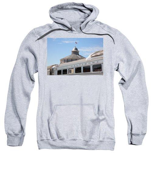 B And O Railroad Museum In Baltimore Maryland Sweatshirt