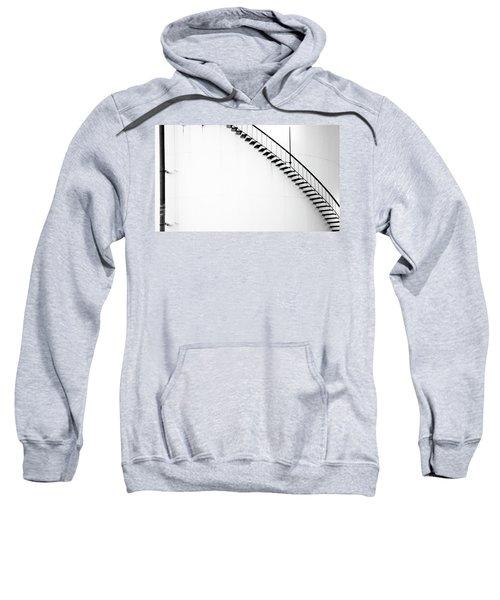 B And W Stairs Sweatshirt