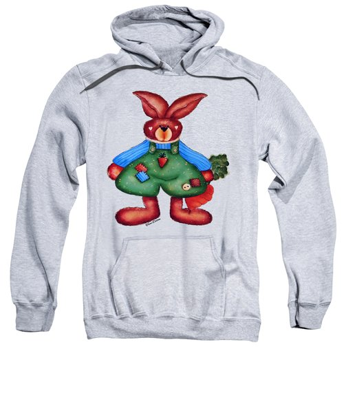 B Is 4bunny Sweatshirt by Tami Dalton